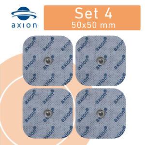 Tens Elektroden Sanitas SEM 40 42 43 44 Beurer kompatibel- Pads mit Druckknopf