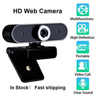 Rotatable USB 2.0 Computer Webcam with Microphone PC Digital HD Video Camera