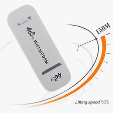 4G LTE Stick Dongle Netzwerkkarte USB Router Weiß Universal-Wireless WiFi Modem