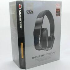 Brand New Monster Inspiration Headband Headphones - Black Sealed