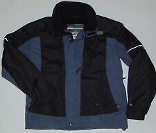 SPYDER XT 5,000 Ski Winter Jacket Gray & Black Size Men's Large EUC Features