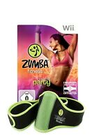 Nintendo Wii Spiel - Zumba Fitness 1: Join the Party + Fitness-Gürtel mit OVP