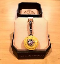 Juicy Couture Yellow Jeweled Cupcake Charm