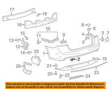 TOYOTA OEM Rear Bumper-Side Molding Retainer 753920R010