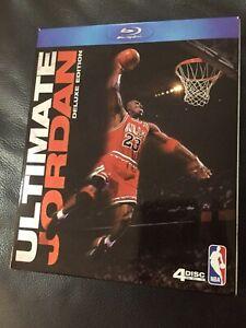 NBA - Ultimate Jordan Blu Ray - Deluxe Edition - 4 Disc set