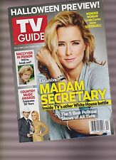TV Guide Magazine OCT 24th - NOV 6th 2016, DOUBLE ISSUE, MADAM SECRETARY.