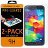 2Pcs Premium Gorilla Tempered Glass Film Screen Protector for Samsung GALAXY S5