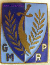 IN14253 - INSIGNE Groupe Mobile de Protection Rurale, sigle GMPR