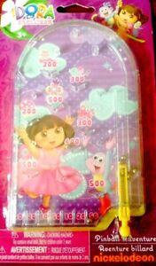 Nickelodeon Dora the Explorer Mini Toy Pinball Adventure Game NEW!