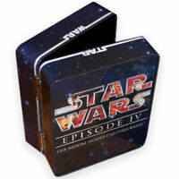 STAR WARS TIN cantina band FIGRIN D'AN modal nodes NEW metal lunch box hinged