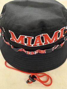 MIAMI HEAT NBA NEW ERA BRAND MARKER HWC TEAM BUCKET HAT M/L