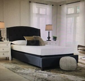 Signature Design by Ashley M69931 Mattress, Queen, Antique White NEW FAST SHIP✈
