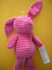 MOTHERCARE PINK STRIPE BUNNY RABBIT SOFT TOY