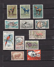 Small lot stamps various animals
