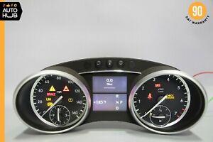 09-12 Mercedes X164 GL450 ML550 Instrument Speedometer Cluster OEM 172k