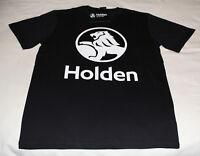Holden Core Logo Mens Black Printed Short Sleeve T Shirt Size XL New