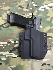 Black Kydex SIG P320 X5 Full Size Holster