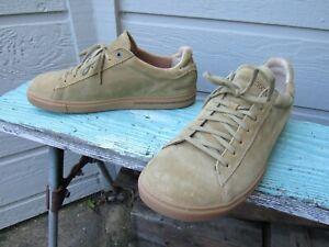 Birkenstock BEND Khaki Suede Leather Sneaker Men's EU 46 M 13 Lace-Up EUC