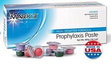 1 Box - Dental Prophy Paste Prophylaxis Non splatter Mark3 - 200 cups
