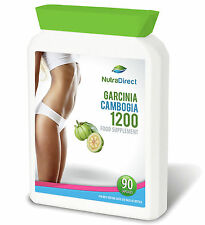 90 x Garcinia Cambogia Wholefruit Nutra Direct Pure Natural vegetarian capsules