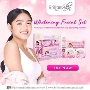 Brilliant Skin Essentials Whitening Facial Set Original
