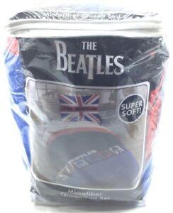 The Beatles Queen Sized 3 Piece Bed Set - 1 Comforter & 2 Standard Shams New