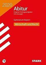STARK Abiturprüfung Bayern 2020 - Wirtschaft/Recht   Buch   Zustand sehr gut