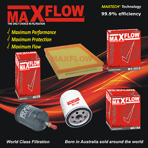For Holden Barina XC Filter Service Kit AIR PETROL OIL Z14XE 1.8 Z18XE  Maxflow®