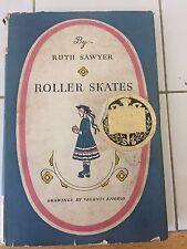 Antique Book Roller Skates by Ruth Sawyer Award Winner 1936 - Shakespeare