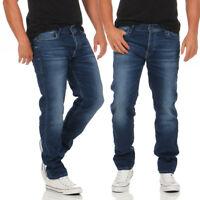 JACK & JONES - TIM LEON GE382 - Indigo - Slim Fit - Jogg Jeans Hose - NEU
