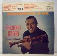 """33 tours Georges JOUVIN Vinyl LP 12"""" TROMPETTE D'OR Vol 1 VOIX MAITRE 34061 RARE"""