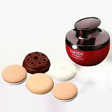 Vibrating Cosmetic Puff set Oganiss TokTok Pro Touch Foundation Makeup Massage