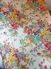 1- 13-Yds. NEW FABRIC Upholstery,Curtain Fabric Flowers & grapes DRAPES