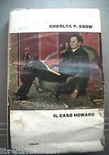 IL CASO HOWARD Charles P Snow Einaudi 1962 Prima edizione Romanzo Narrativa di