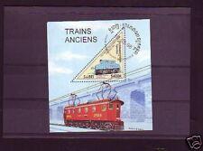 +3034+ TIMBRE CAMBODGE   BLOC TRAIN  1998