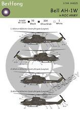 Bestfong Decal 1/144 Bell AH-1W R.O.C. (Taiwan) Army