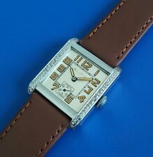 Antique 1927 Mans Bulova Silver Tone Dial SERVICED RUN'S EXCELLENT