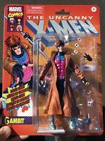 "Marvel Legends 6"" Gambit Retro Vintage New Sealed Uncanny X-Men Ragin Cajun Remy"