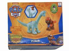 Paw Patrol Dino Rescue Zuma and Brontosaurus Action Figure Set