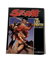RARE - STORM THE LAST FIGHTER Graphic Novel Comic TITAN BOOKS- Near Mint 1st RUN
