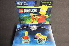 Lego Dimensions Bart Simpson Fun Pack 71211 (FREE SHIPPING) Factory Sealed