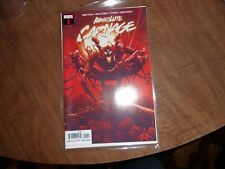 2 copies of ABSOLUTE CARNAGE #1 NM! Donny Cates Ryan Stegman 1ST PRINT! HOT