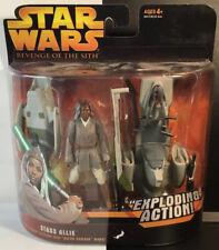 Star Wars Revenge Of The Sith Stass Allie w/ Barc Speeder Exploding Action.