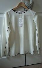 Zara woman top white XS - NEW