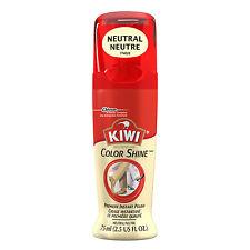 KIWI #1 LIQUID SHOE POLISH NEUTRAL / CLEAR Premium Wax Formula Nourish & Protect