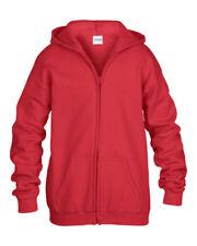 Abbigliamento rossi in poliestere per bambini dai 2 ai 16 anni taglia S