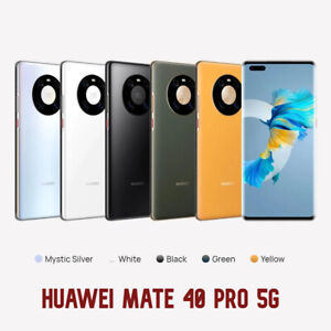 "Huawei Mate 40 Pro 256GB 8GB RAM NOH-NX9 Dual Sim (FACTORY UNLOCKED) 6.76"" 50MP"