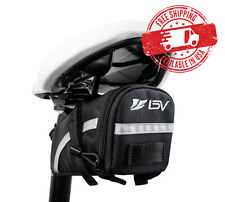 BV Bicycle Seat Rear Saddle Bag Strap-On Bike Tail Pouch Pannier NEW BV-SB5