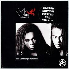 """MILLI VANILLI - 7"""" - Baby Don't Forget My Number (Limited Edition Poster Bag)"""
