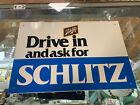 Schlitz Beer Tin Advertising Sign- 12018